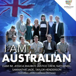 I Am Australian - Sony Music Artwork
