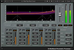 Waves C4 - Multiband Compressor
