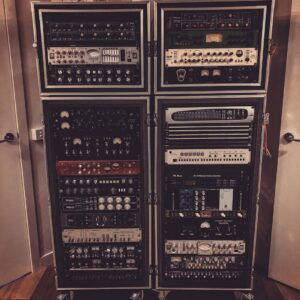 Simon Moro - Outboard Gear in Racks